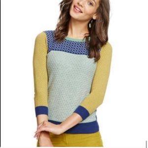Boden Sweaters - Boden hopscotch pattern cashmere jumper/sweater